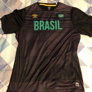 Umbro Brazil Soccer Jersey